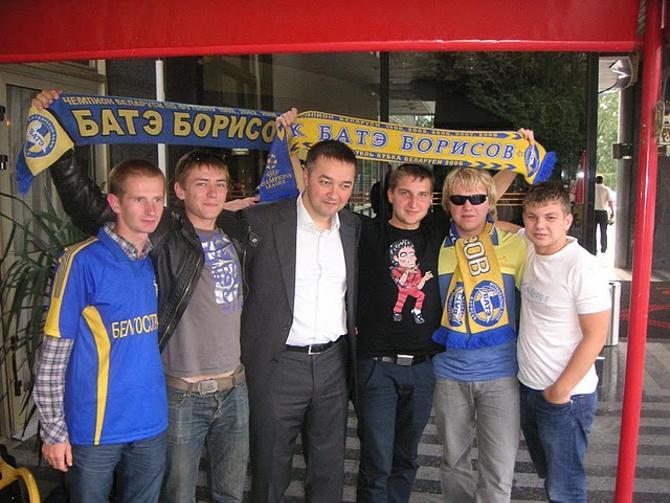 Анатолий Капский и фанаты.