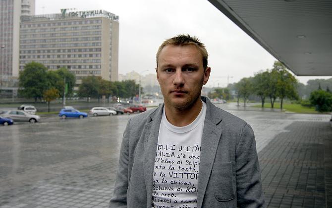 С недавнего времени Константин Кольцов увлекся рыбалкой.