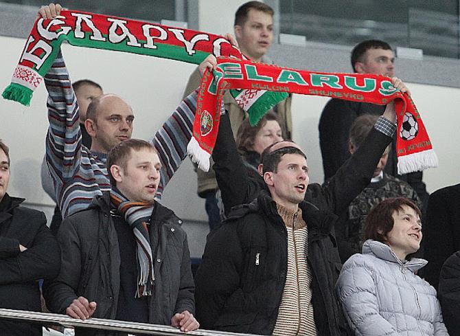 Минские зрители не успели соскучиться по белорусской сборной.