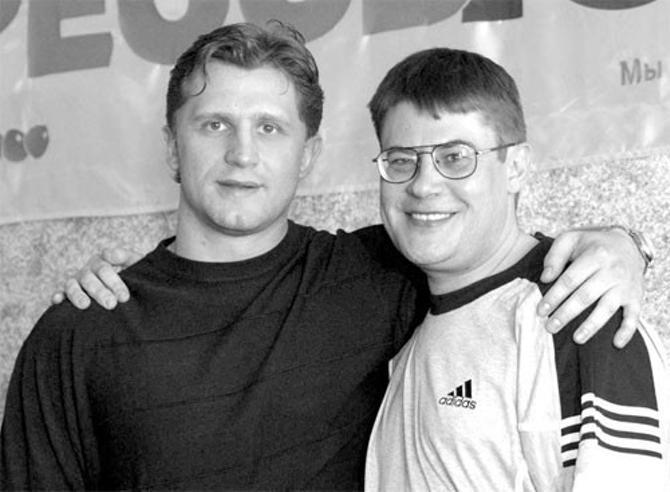 Руслан Салей и Сергей Олехнович.