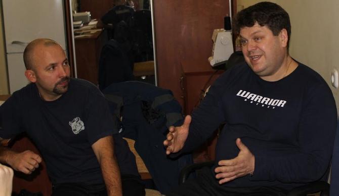 Виктору Круковскому (слева) и Павлу Головацкому есть, что рассказать.