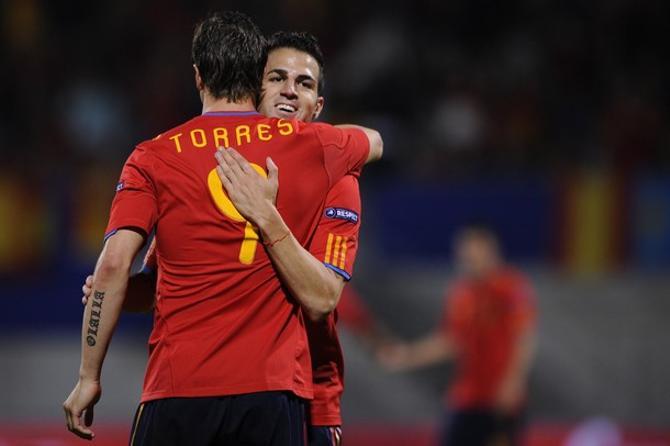 Фернандо Торрес начал квалификацию к Евро-2012 с дубля.