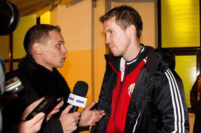 Александр Глеб лучше партнеров охарактеризовал матч