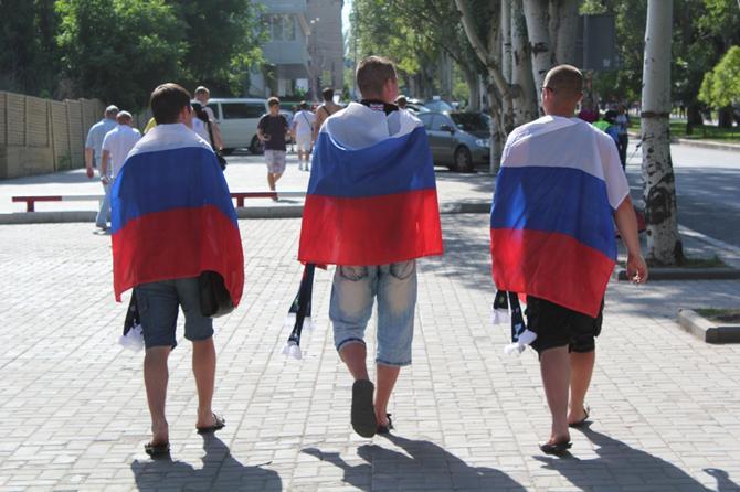 Без русских на украинских матчах Евро -- никуда.