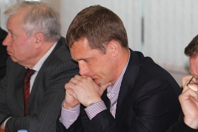 Виктор Гончаренко ушел с исполкома практически ни с чем.