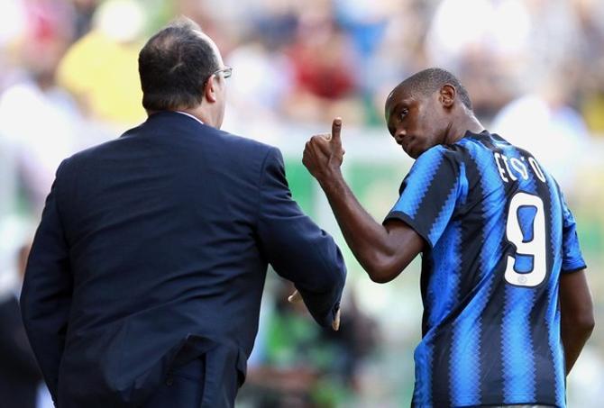 Самюэль ЭтоО отметился дублем и нанес «Палермо» первое за полтора года домашнее поражение.