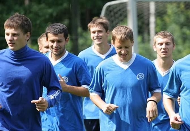 Сергей Кисляк и Антон Путило уже давно не тренировались вместе.