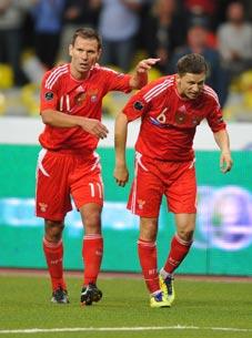 «Сборная из десяти датчан обыграла-таки македонцев»
