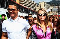 Знаменитости на Гран-при Монако