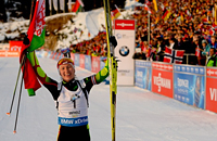 Домрачева, Бьорндален и еще 11 биатлонистов, которые выиграли все