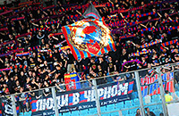ЦСКА – «Анжи». Как фанаты отодвинули футбол на второй план