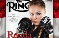 Ронда Раузи на обложке журнала The Ring
