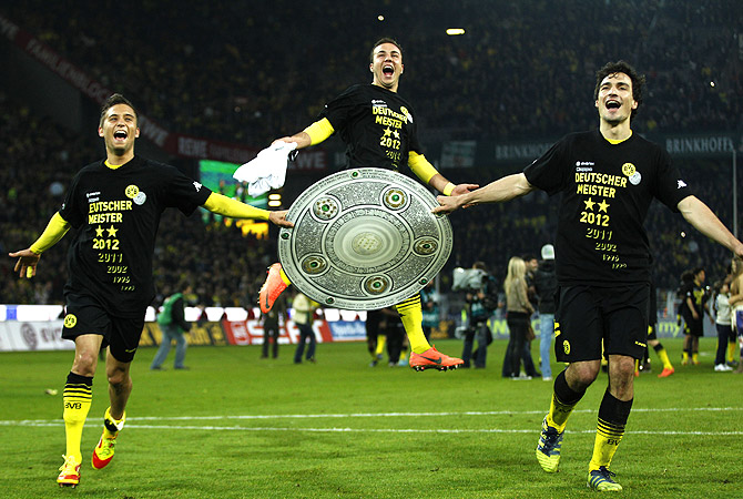 Почему «Боруссия» снова выиграла бундеслигу?