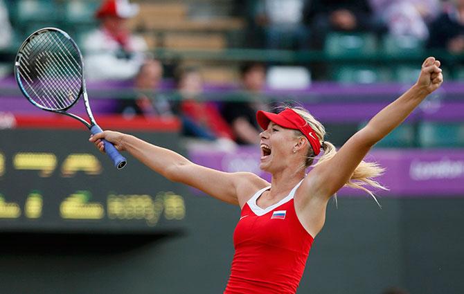 Подвиг Шараповой и еще 3 теннисных события среды ОИ-2012