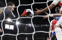«Арсенал» пропускает прямым ударом с углового