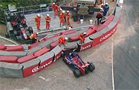 Макс Ферстаппен выбивает Ромена Грожана на Гран-при Монако