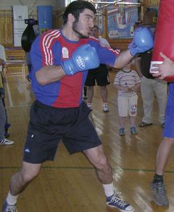 Олимпийский проспект. Бокс, до 81 кг