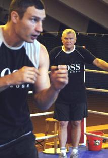 Фриц Здунек: «Никакого четырехлетнего перерыва в карьере Виталия Кличко не было»