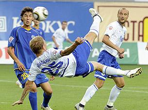 Денис Колодин: «Сам не понимаю, как удалось столь удачно попасть по мячу»