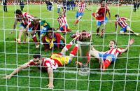 Победа «Атлетико» в Лиге Европы в картинках