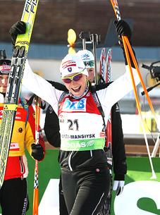 Анастасия Кузьмина: «Не тороплюсь выиграть свою первую гонку в Кубке мира»