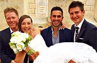 Свадьба самой сексуальной биатлонистки мира