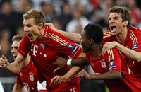 Затяжной прыжок. Лучшие кадры матча «Реал» – «Бавария»