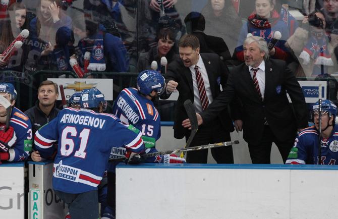 «По игре хоккеисты СКА сейчас – чемпионы КХЛ»