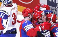 Россия обыграла Норвегию. Фотогалерея