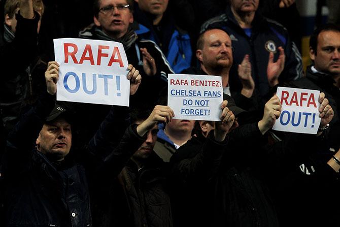 Ненавижу я тебя. Почему Рафе Бенитесу не стоило приходить в «Челси»