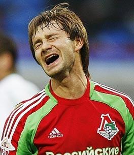 Дмитрий Сычев сожалеет о нереализованном голевом моменте