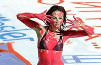 Болельщики «Автомобилиста» раскрасили лед домашней арены