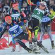 Авария на «Гонке чемпионов»: Гараничев сбил Скардино и сломал ей винтовку