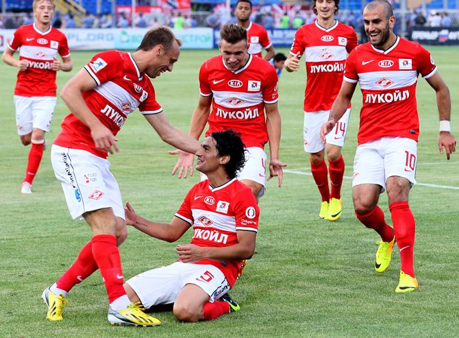 Тино Коста и еще 10 игроков, забивавших за «Спартак» в дебютной игре