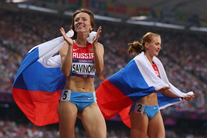 Мария Савинова: «Когда у меня слезы перед стартом наворачиваются – это к лучшему»