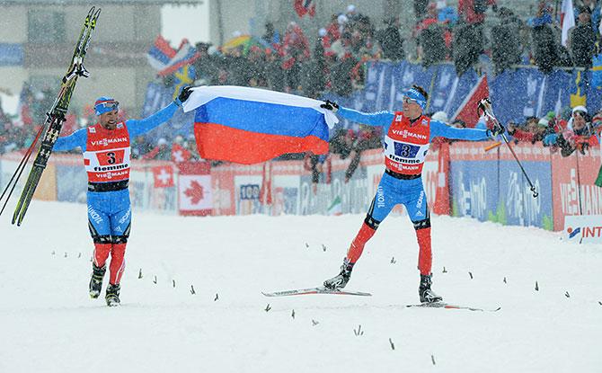 Капитан Крюк. Как Россия выиграла второе золото на лыжном чемпионате мира