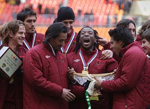 «Рубин» ассоциируется с Россией в памятном матче против Голландии»