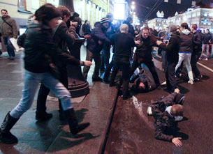 «ГУВД Санкт-Петербурга проявило невиданную трусость»