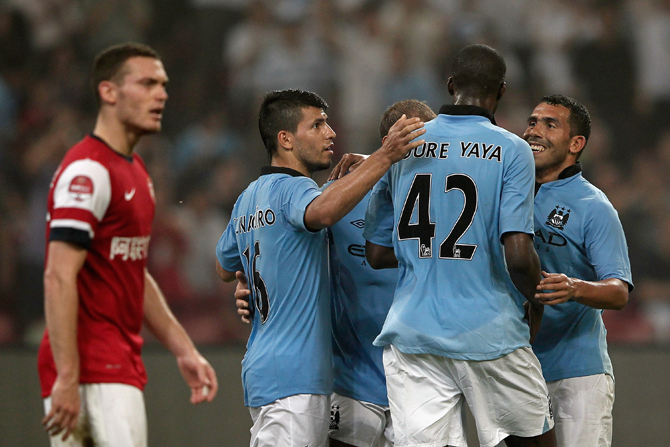 Трансформеры-2012. «Манчестер Сити»