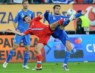 «Учитывая статус матча с греками, ругать сборную совершенно не за что»