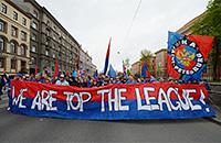 СКА отмечает победу в Кубке Гагарина