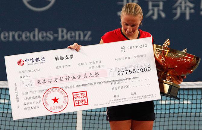 Сколько стоит быть профессиональным теннисистом
