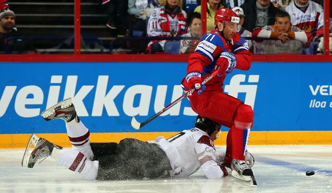 Россия – Латвия. Оценки сборной России