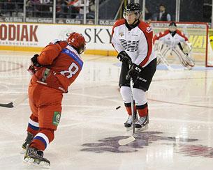 Никита Гусев: «Канадцы в комбинационный хоккей толком не играют»