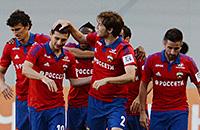 ЦСКА победил «Анжи»