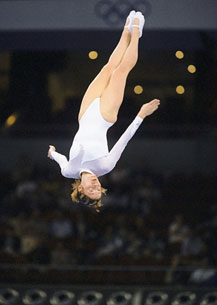 Олимпийский проспект. Прыжки на батуте