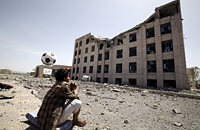«Сложно играть, когда над твоей семьей летают бомбы». Йемен рвется на ЧМ-2018, несмотря на войну