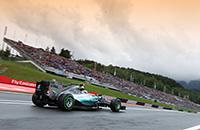Гран-при Австрии. Утренний дождь, поул Хэмилтона и другие события субботы