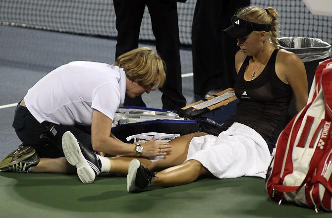 Поражение Возняцки и еще 3 события первого круга US Open-2012