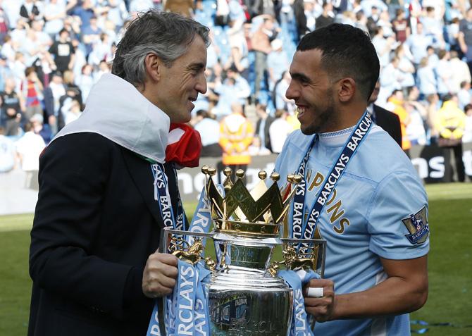 Парад чемпионов. «Манчестер Сити»